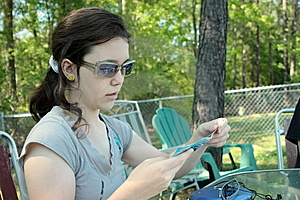 Teen Girl Reading Royalty Free Stock Photography - Image: 13904597