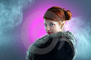 Young Ginger Lady Stock Images - Image: 13905444