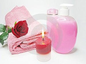 Spa Face Tonic Liquid Soap Royalty Free Stock Photo - Image: 13908695