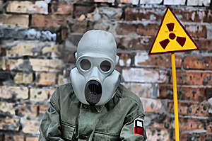 Nuclear Tourist Stock Image - Image: 13908791
