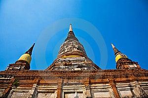 Temple Of Wat Mongkol Stock Photos - Image: 13909123