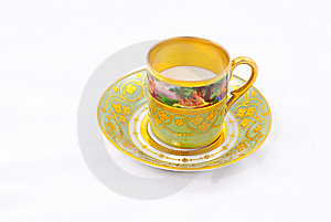 Fancy Cup Royalty Free Stock Image - Image: 13910096