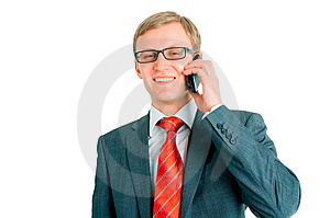 The Businessman Behind Job Royalty Free Stock Images - Image: 13910959