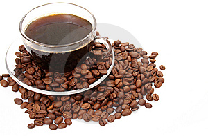 Black Coffee Royalty Free Stock Images - Image: 13911759