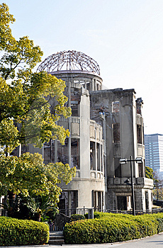 Dome Of Hiroshima Stock Images - Image: 13911794