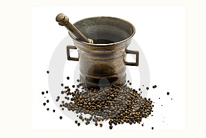 Copper Mortar Stock Images - Image: 13911834
