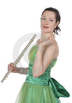 Flautist Stock Images - Image: 13912064