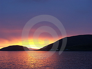Very Colorful Sunset Royalty Free Stock Image - Image: 13912216