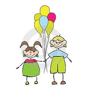 Happy Kids In Love Royalty Free Stock Photo - Image: 13912965