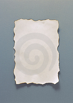 Old Yellow Burnt Piece Of Paper Royalty Free Stock Images - Image: 13913799