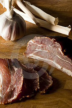 Gammon Slices Stock Images - Image: 13914114