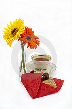 Teatime Stock Images - Image: 13915314