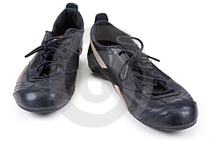Black Feminine Gym Shoes Stock Image - Image: 13915451