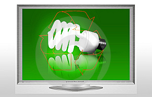 Recycle Low Energy Vector Stock Photography - Image: 13917382