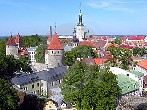 Tallinn, Estonia Old Town Stock Photography - Image: 13921712
