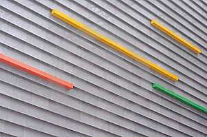 Decoration Of External Wall Of Modern Building Royalty Free Stock Images - Image: 13922399