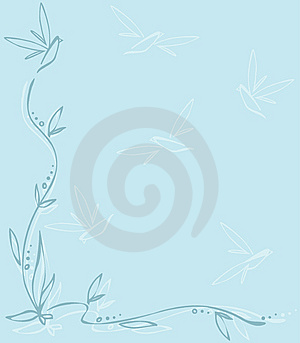 Blue Spring Royalty Free Stock Image - Image: 13922956