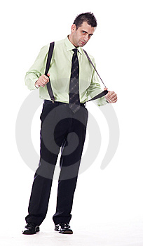 Handsome Businessman Royalty Free Stock Photos - Image: 13925738
