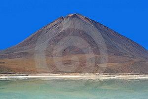 Licancabur Volcano And Laguna Verde, Bolivian Ande Stock Image - Image: 13934471
