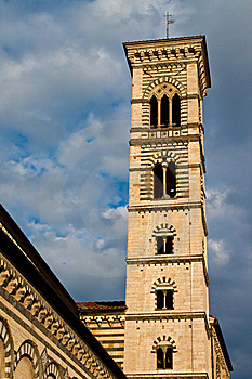 Prato Bell Tower Royalty Free Stock Image - Image: 13934476