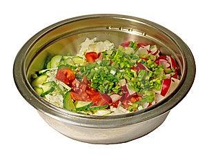 Salad Stock Image - Image: 13936861