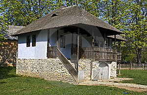 Romanian Cottage Stock Photography - Image: 13937932