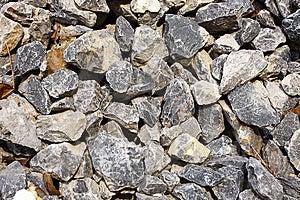Crushed Stone Royalty Free Stock Photos - Image: 13938088
