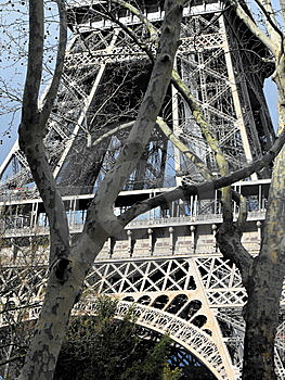 La Tour Eiffel (The Eiffel Tower) Royalty Free Stock Photo - Image: 13938505