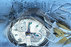 Frozen Time Stock Photo - Image: 13940070