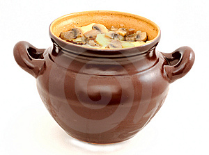 Stewed Potatoes And Fungi Stock Images - Image: 13941104