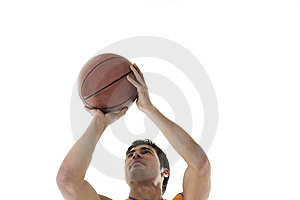 Basketball Player Royalty Free Stock Photography - Image: 13942607