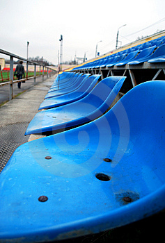 Empty Stands Royalty Free Stock Photography - Image: 13943607