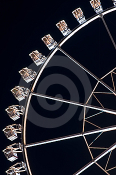 Ferris Wheel At Amusement Park Stock Photo - Image: 13943850