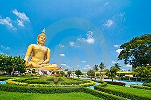Biggest Buddha Image Stock Photography - Image: 13944642