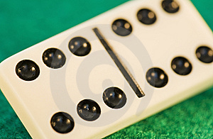 Domino Piece Royalty Free Stock Image - Image: 13944886