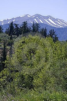 White Mountains Of Crete Free Stock Images