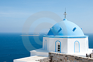 Greek Church Stock Image - Image: 13946371