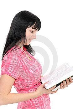 Reading Woman Royalty Free Stock Photo - Image: 13946525