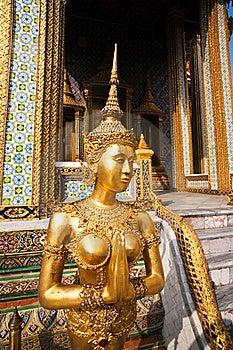 Kinaree, A Mythology Figure In The Grand Palace Stock Image - Image: 13951341
