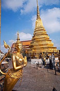 Kinaree, A Mythology Figure In The Grand Palace Stock Photography - Image: 13951352