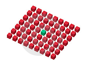 Cube Abstract Royalty Free Stock Images - Image: 13952249