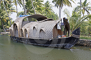 Converted Rice Barge Royalty Free Stock Photo - Image: 13952455