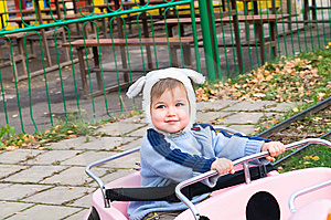 Picture Of Boy On Park Amusement Royalty Free Stock Photos - Image: 13953368