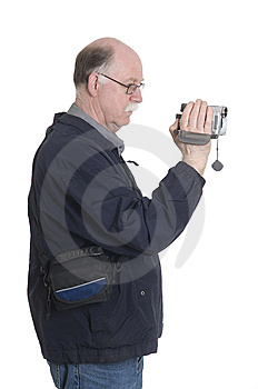 Man Is Filming Stock Images - Image: 13955104