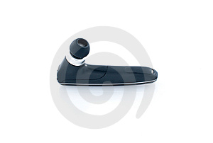 Bluetooth Headset Royalty Free Stock Photography - Image: 13955637