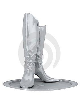 Female's Boots Stock Photo - Image: 13956500