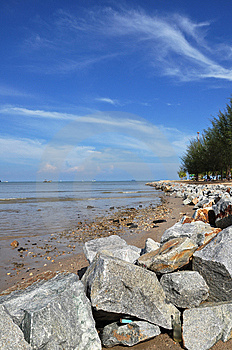 ิฺBeach Of Phuket Town Thailand Royalty Free Stock Photo - Image: 13957595