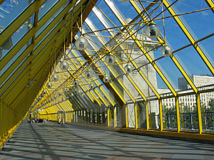 Glass Bridge Royalty Free Stock Photos - Image: 13960578