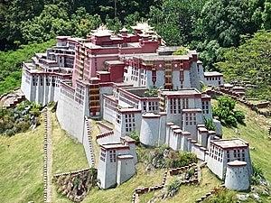 Model Of The Potala Palace Royalty Free Stock Image - Image: 13960596