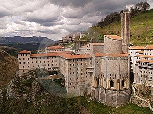 Sanctuary Of Aranzazu Royalty Free Stock Photography - Image: 13961037